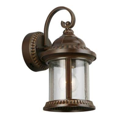 Coach Light Outdoor Sconces, Imre 2 Light Outdoor Sconce With Motion Sensor