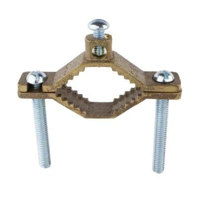 1-1/4 in. to 2 in. Bronze Ground Clamp