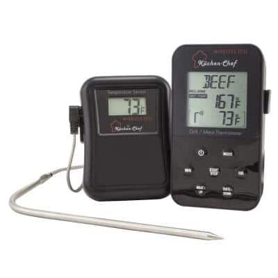Kuchen-Chef Radio-Controlled Grill and Meat Thermometer