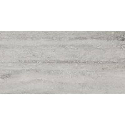 Trevi Gray 12 in. x 24 in. Matte Porcelain Floor and Wall Tile (16 sq. ft./Case)