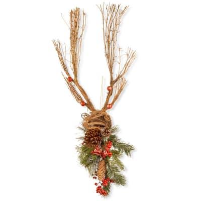 35 in. Christmas Deer Decoration