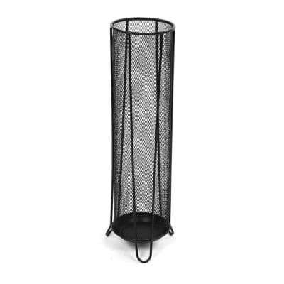 Black Thin Metal Mesh Umbrella Holder