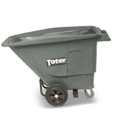 1/2 Cubic Yard 400 lbs. Capacity Utility Duty Tilt Truck - Gray