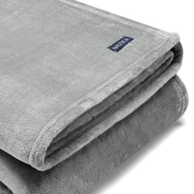 Ultra Plush Solid Woven Blanket