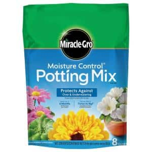 Moisture Control 8 qt. Potting Soil Mix