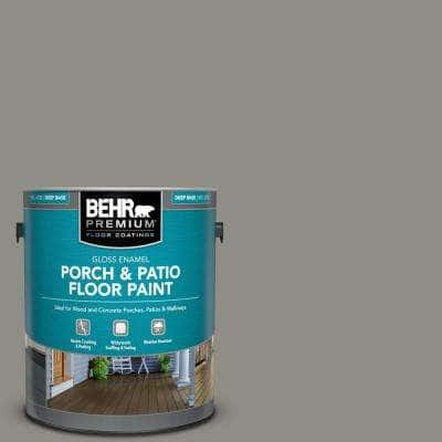 1 gal. #PFC-69 Fresh Cement Gloss Enamel Interior/Exterior Porch and Patio Floor Paint