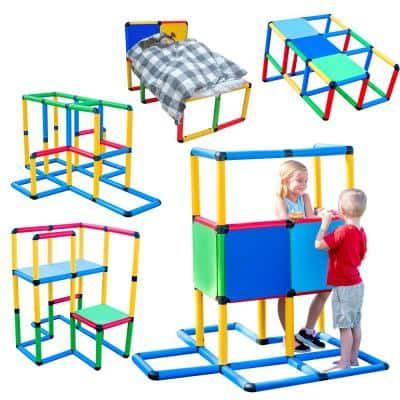Create And Play Life Size Structures Standard Set Fun and Educational Learning Toy (199-Piece)