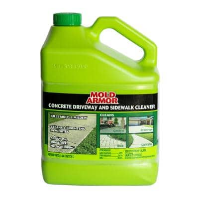 1 gal. Concrete Cleaner Mold and Mildew Remover