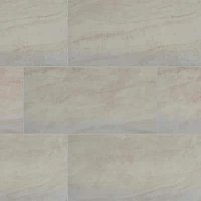 Naples Cream 16 in. x 32 in. Matte Porcelain Floor and Wall Tile (14.24 sq. ft. / case)