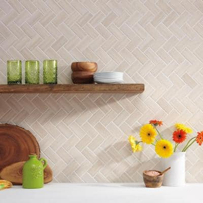 Developed by Nature Chenille 12 in. x 14 in. x 6.35 mm Ceramic Mosaic Wall Tile (0.67 sq. ft./Each)