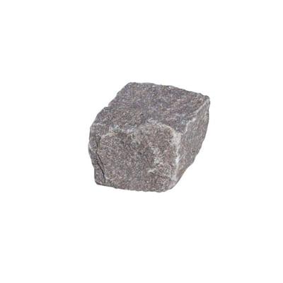 Cobblestone 4 in. x 4 in. x 4 in. Rose Granite Edging (250-Pieces/83 lin. ft./Pallet)