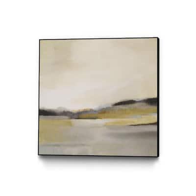 "30 in. x 30 in. ""Morning Beach"" by Alison Jerry Framed Wall Art"