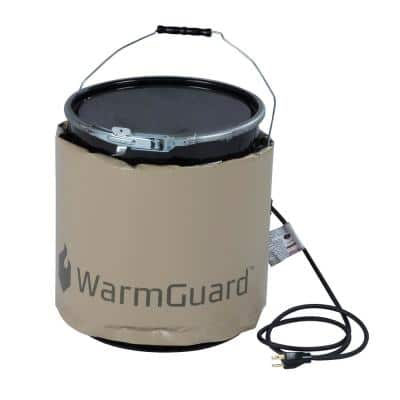 Insulated Pail Band Heater Bucket Heater, Fixed Internal Thermostat Maximum Temperature 145-Degree Fahrenheit