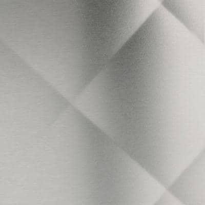 30 in. x 30 in. Quilted Stainless Steel Backsplash