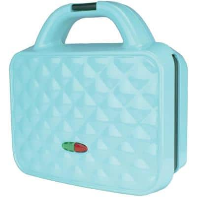 Couture Purse Blue Nonstick Dual Waffle Maker