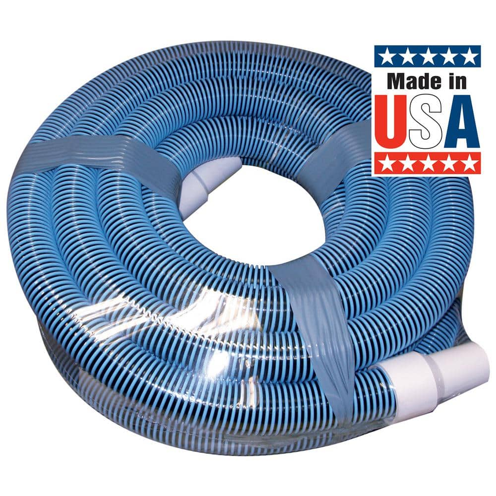 Poolmaster Classic 40 Ft By 1 1 2 In Swimming Pool Vacuum Hose 33440 The Home Depot
