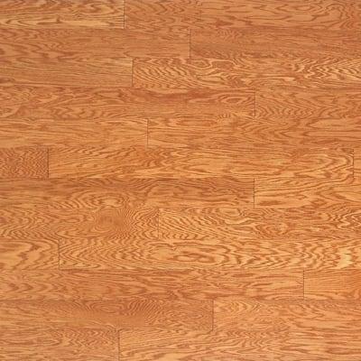 Oak Golden 3/8 in. Thick x 4-3/4 in. Wide x Random Length Engineered Click Hardwood Flooring (33 sq. ft. / case)