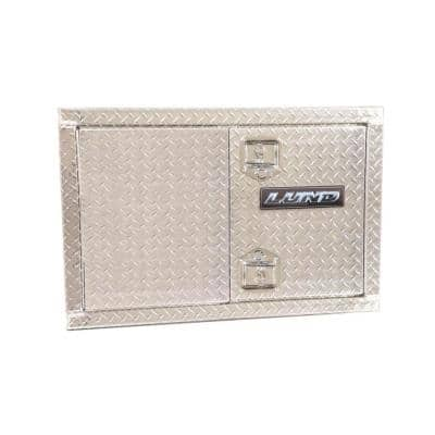 Aluminum Industrial Underbody Storage Box, Silver