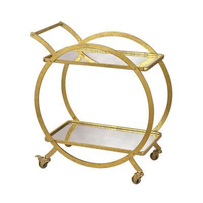 Ring Gold Bar Cart
