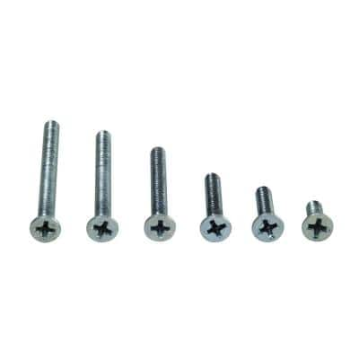 6/32 Assorted Flat Headed Phillips Screw Kit
