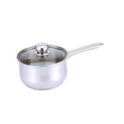 Classic 1 qt. Stainless Steel Sauce Pan with Glass Lid