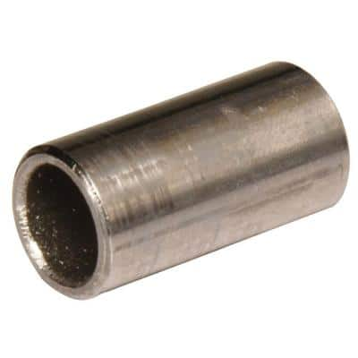 3/8 I.D x 1/2 O.D x 1 in. Seamless Steel Spacer (5-Pack)