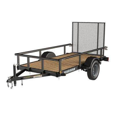 2241 lbs. Payload Capacity Landscape Trailer