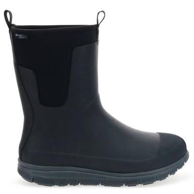 Men's Mansford Neoprene Tall Rubber Boot - Black Size 14