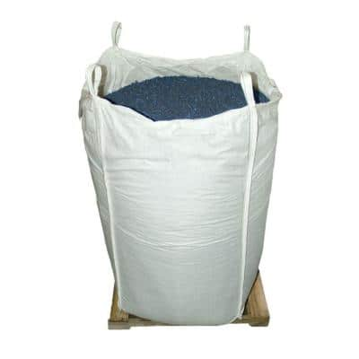 76.9 cu. ft. Blue Rubber Mulch