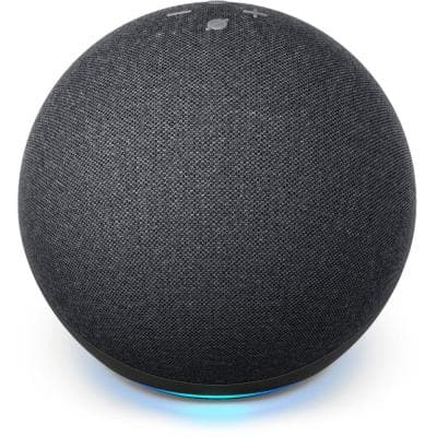 Echo (4th Gen) with Premium Sound, Smart Home Hub, and Alexa - Charcoal