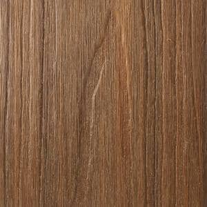 UltraShield Natural Cortes Series 1 in. x 6 in. x 8 ft. Peruvian Teak Solid Composite Decking Board (10-Pack)