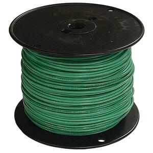 1000 ft. 6 Green Stranded CU SIMpull THHN Wire