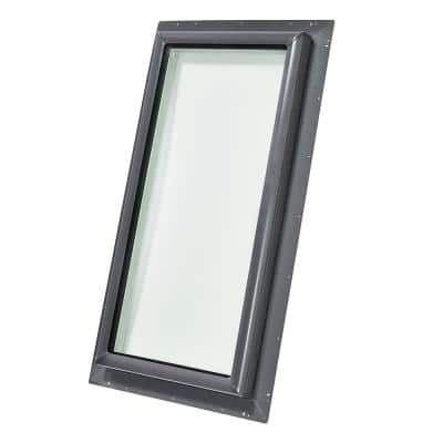 22-1/2 in. x 46-1/2 in. Fixed Pan-Flashed Skylight with Laminated Low-E3 Glass