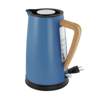 Oslo Ekettle 7.2-Cups Matte Blue Cove Electric Kettle