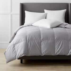 Alberta Medium Warmth Platinum Queen Euro Down Comforter