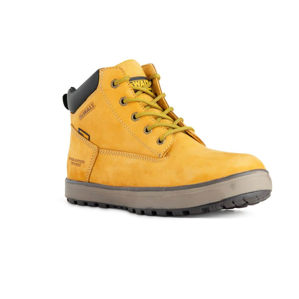 Dewalt Men S Helix Pt Wp Waterproof 6 In Work Boots Soft Toe Wheat Size 11 M Dxwp84365m Wht 11 The Home Depot