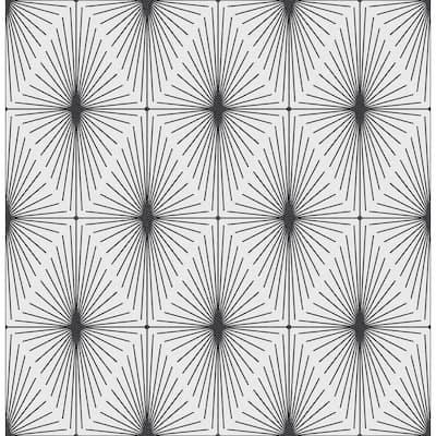 Starlight Black Diamond Paper Strippable Roll Wallpaper (Covers 56.4 sq. ft.)