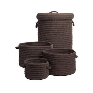 Ethan 4-Piece Mink Wool Basket Set