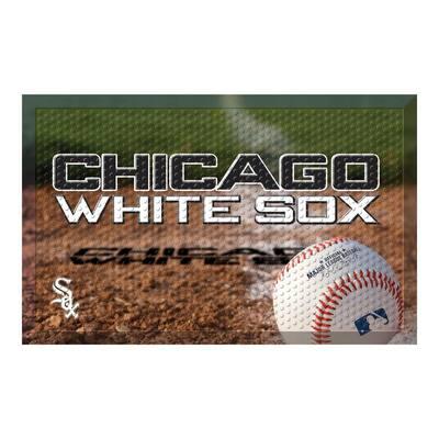 MLB - Chicago White Sox 19 in. x 30 in. Indoor/Outdoor Scraper Mat Door Mat