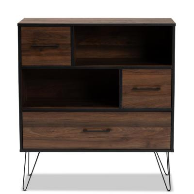 Baxton Studio Bookcases Home Office Furniture The Home Depot