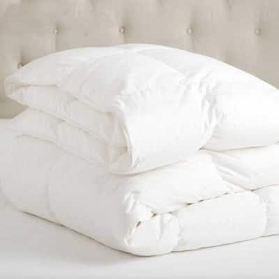 A1HC White King Organic Cotton 3-in-1 Customizable Wool Duvet Insert