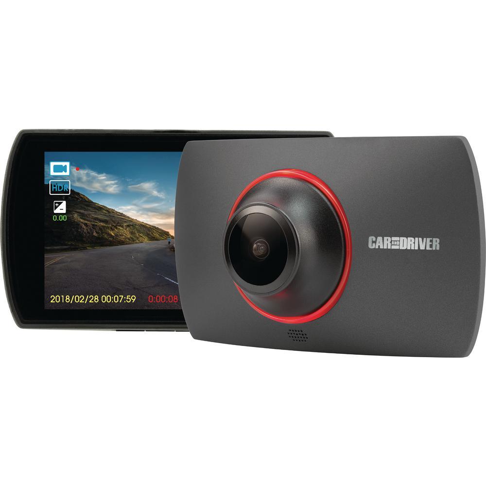 Road Patrol HD Dash Cam with Loop Recording & Super Nightvision