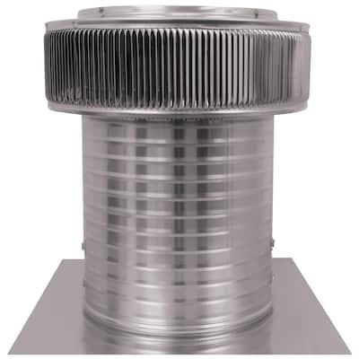 12 in. Dia 800 CFM Power Mill Aura Attic Fan with 12 in. Collar