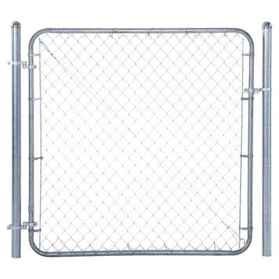 6 ft. W x 6 ft. H Metal Adjustable Walk Gate Kit