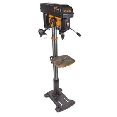 8.6 Amp 15 in. Variable Speed Floor Standing Drill Press