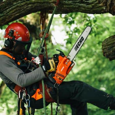 14 in. 30.1 cc Gas 2-Stroke Cycle Chainsaw