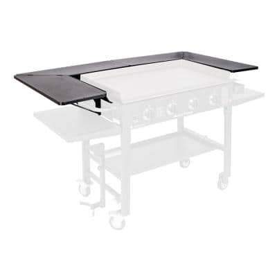 Grill not included and Doesnt fit the 36 Griddle with New Rear Grease Model Blackstone Signature Accessories Powder Coated Steel 3- 36 Inch Griddle Surround Table Accessory Pack