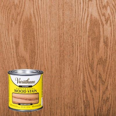 8 oz. Golden Oak Classic Wood Interior Stain (4-Pack)