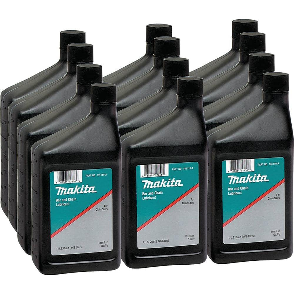 Makita 1 Qt. Bar and Chain Oil (12-Pack)