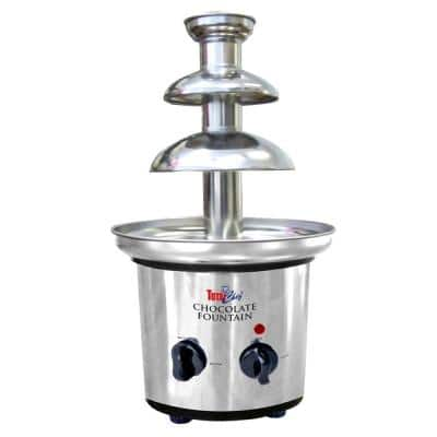 3-Tier Stainless Steel Chocolate Fountain